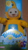 original teletubbies plush laa-laa yellow character