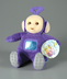 teletubbies tinky winky plush collectible flocked