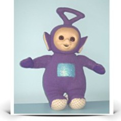 12 Teletubbies Tinky Winky Plush