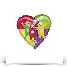 Save 18 Teletubbies Character Heart Shaped