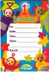 teletubbies birthday invitations