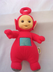 teletubbie talking counting antennae plush vinyl