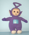 teletubbies tinky winky plush doll inches