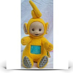 6 Plush Vintage Teletubbies Laa Laa Doll