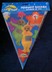 teletubbies birthday pennant banner