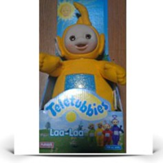 Save Original 1998 Teletubbies 12 Plush Laalaa