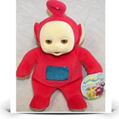 Save Teletubbies Po Beanie Doll