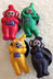 teletubbies charms snap decorations buttons widgets