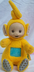 plush vintage teletubbies doll