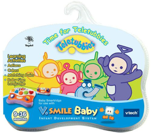Vtech - V. Smile Baby Smartridge Teletubbies