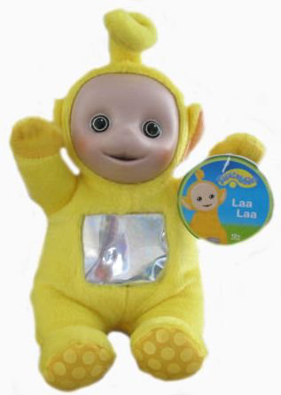 Teletubbies 7 Laa Laa Plush