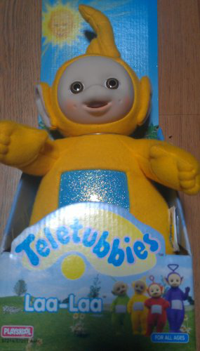 Original 1998 Teletubbies 12 Plush Laalaa
