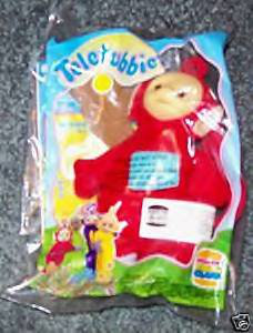 Burger King Teletubbies Po Plush Clip Ons